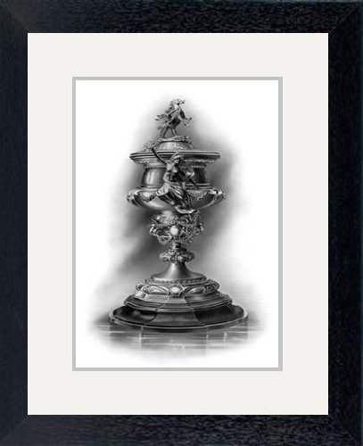 Print Of The Grand National Trophy 1906 1908 1909artist