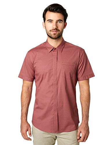 Pattern Diamond Shirt (7 Diamonds City Savior Short Sleeve Shirt (X-Large, Roan Rogue))