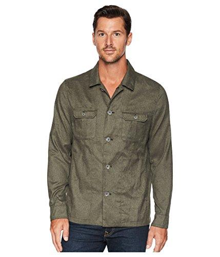 Calvin Klein Heather Military Shirt Jacket Oak Leaf XS