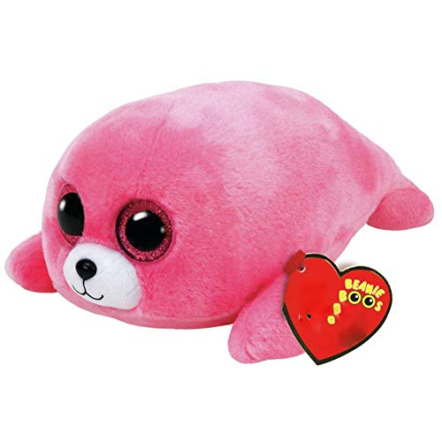 ZQQXV 15cm Poodle Fish Bunny Penguin Turtle Lamb Plush Big-Eyed Toy with Heart Tag
