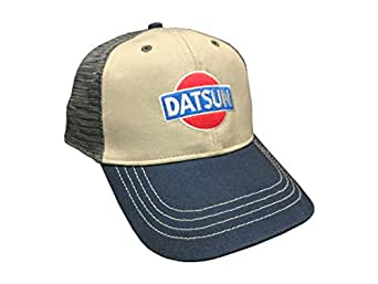 Custom Nissan Datsun Mesh Snapback Cap - Tri-Tone at ...