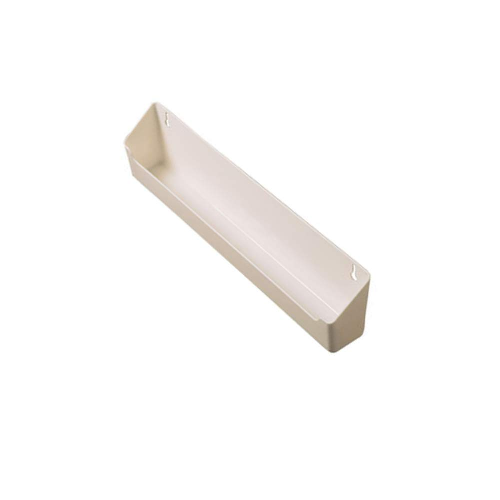 """Rev-A-Shelf LD-6591-24-11-1 24"""" Tip Out Tray & 1 Pair Hinges, White"""