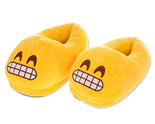 Divertenti Scarpe Calde Invernali Emoj Divertenti Pantofole Unisex Per Adulti - Cacca Sorridente, Viso Addormentato, Demone Ecc
