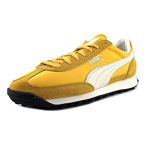 c8e7c5c10bb Puma Easy Rider VTG Men Round Toe Suede Yellow Sneakers outlet ...