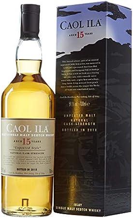 Caol Ila 15 Unpeated Whisky Escocés - 700 ml