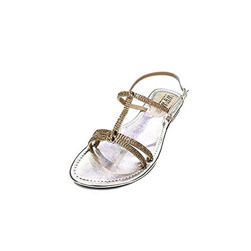 zapatos para para de mujer plateado noche y Reino Use y camine de negro dorado mujer del sandalias Unido tzqBtw0x