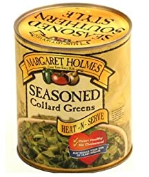 Margaret Holmes Seasoned Heat & Serve Collard Greens (Pack of 2)