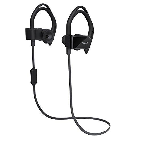 AUKEY Bluetooth Headphones Pedometer Tracking