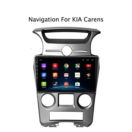 9Inch Android 8.1 2DIN Android Car Radio Stereo GPS Navigation WiFi Bluetooth MP5 Player For Kia Carens 2007-2011,AT 4G LTE with SIM Card Slot
