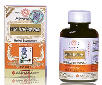 Fuzi Lizhong Wan suppléments aux herbes de la