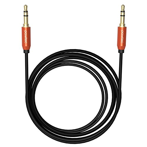 Pawtec Male to Male 3.5mm Auxiliary Audio Cable for iPhone /