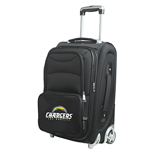 Denco NFL Los Angeles Chargers 21-inch Carry-On Luggage