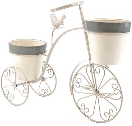Art Decor Macetero bicicleta, dekooration bicicleta, cesta, metal ...