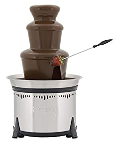 Sephra CF18L Classic Home Fountain-Stainless Steel, The fountain must have at least the recommended 6lbs of chocolate to run correctly