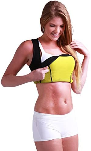 Women's Hot Sweat Slimming Neoprene Shirt Vest Body Shapers for Weight Loss Fat Burner Tank Top 9