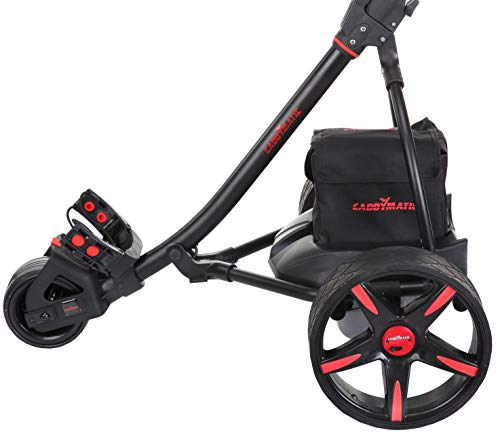 Caddymatic-V2-Electric-Golf-TroleyCart-with-Upgraded-Battery-with-Auto-Distance-Functionality-Travel-Bag-Rain-Cover-Scorecard-Holder-Umbrella-Holder-Drinks-Holder