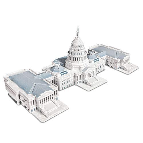 CubicFun MC074h The U.S. Capitol 3d Puzzle, 132 Pieces ()