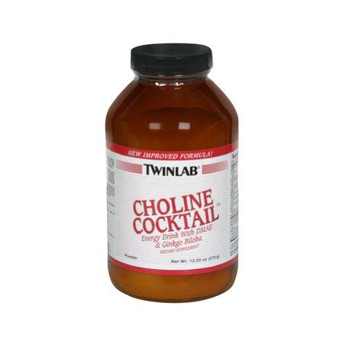 Twinlab - Холин коктейль Энергетический напиток с DMAE и гинкго билоба Порошок - 14,71 гр.