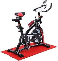 Ridgeyard Bicicleta estática Indoor cycling Bicicleta Spinning Cardio Workout, Direct Belt Driven, Manillar y asiento ajustables con pantalla LCD Escaneo, tiempo, velocidad, distancia, calorías, cuentakilómetros(negro): Amazon.es: Deportes y aire libre