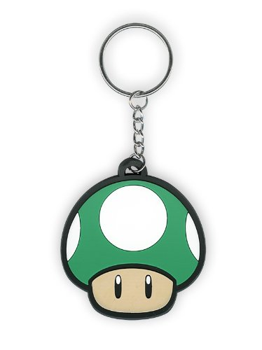 Amazon.com: Nintendo Llavero hongo 1 Up: Toys & Games