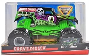 Amazon Com Hot Wheels Monster Jam Scale Grave Digger Die
