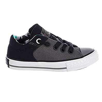 6ae64fe76db5e7 Converse Kids Chuck Taylor All Star High Street Slip Shoes -  Thunder Black White