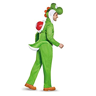 Disguise Men's Yoshi Deluxe Adult Costume