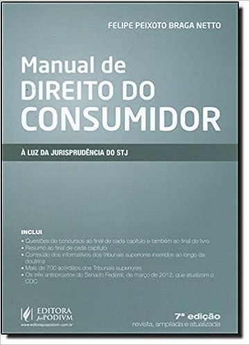 5f5fcf056 Manual De Direito Do Consumidor - A Luz Da Jurisprudencia Do Stj: Vários  Autores: 9788577615445: Amazon.com: Books
