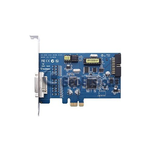 GeoVision GV-600B-16 16 Channel DVR Video Capture Card, DVI, PCI Express Card, Audio 8.55/30fps OEM (16 Dvr Channel Geovision)