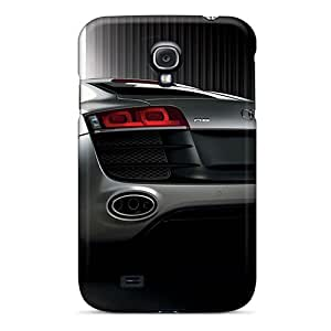 Bumper Cell-phone Hard Cover For Samsung Galaxy S4 (UBb4009mpyb) Allow Personal Design High-definition Audi R8 Pictures