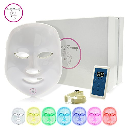 7 Color LED Light Therapy Photon Mask | Professional Skin Re
