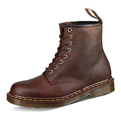 Dr. Martens Unisex-Adult 1460 Lace-Up Boots Brown (Gaucho Crazyhorse 203), 6 UK (39 EU) 1