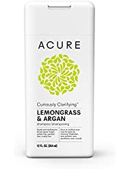 ACURE Curiously Clarifying Lemongrass Shampoo, 12 Fl. Oz. (Packaging May Vary)