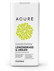 Acure Curiously Clarifying Shampoo - Lemongrass, 8 fl. oz. (Packaging May Vary)