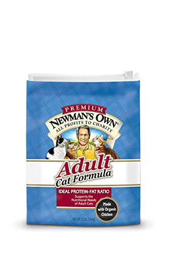 Newman'S Own Adult Cat Dry Formula, 3-Pound Bags (Pack Of 2)