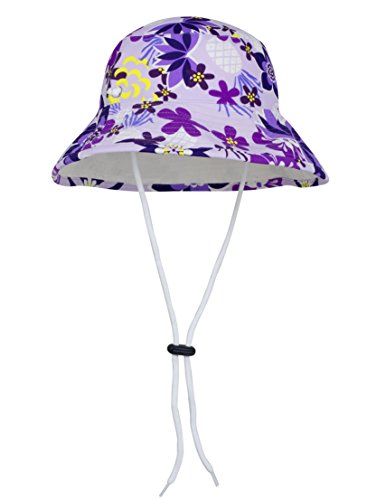 6be8426b55a Tuga Girls Reversible Bucket Sun Hat (UPF 50+)