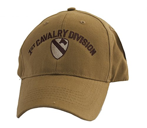 1st Cavalry Division Coyote Brown Low Profile Cap