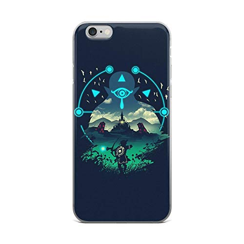 iPhone 6 Plus/6s Plus Pure Clear Case Cases Cover Sheikah Slate Wild Adventurer Legend of Zelda Breath of The Wild (All Shrines In Breath Of The Wild)