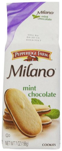 Pepperidge Farm Mint Milano Cookies, 7 oz Package (Pepperidge Farm Mint Cookies)