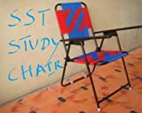 Folding Study Chair - Hallow Iron & Nawar ( Blue & Red)