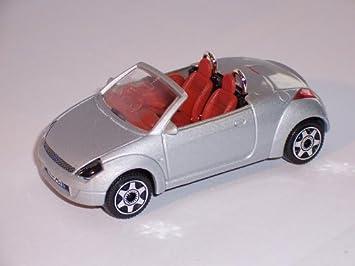 Ford Streetka Street Ka Silver Convertible   Bburago Burago Model Car