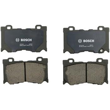 Infiniti FX50 G37 Nissan 370Z Rear Brake Pad Set Bosch QuietCast BP1347 For