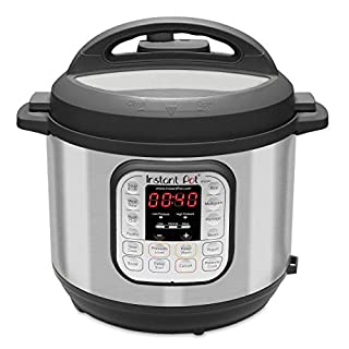 Instant Pot Duo 60 321 Electric Pressure Cooker, 6-QT, Stainless Steel/Black (B00FLYWNYQ) | Amazon price tracker / tracking, Amazon price history charts, Amazon price watches, Amazon price drop alerts
