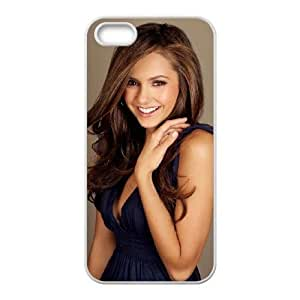 Nina Dobrev_004 iphone 5 5s Cell Phone Case White Protective Cover