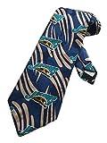 Team NFL Mens Jacksonville Jaguars Football Necktie - Navy Blue - One Size Neck Tie