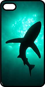 Swimming Shark Underwater Tinted Rubber Case for Apple iPhone 4 or iPhone 4s