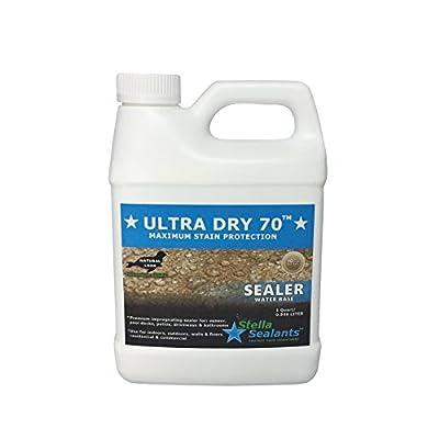 Ultra Dry 70 - Premium Penetrating Sealer - Maximum Protection for Natural Stone - Natural Look