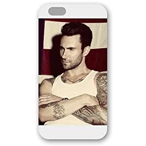 UniqueBox - Customized Personalized White Frosted iPhone 6 4.7 Case, Adam Levine iPhone 6 case, Only fit iPhone 6(4.7 Inch)