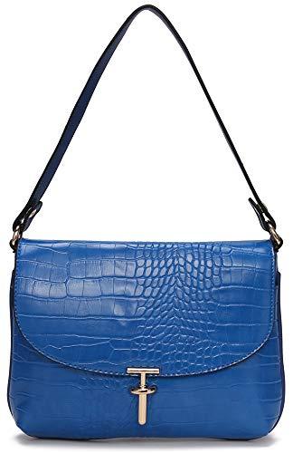 Handbags Designer Luxury (Women's Designer Purse MK CUTE Designer Organizer LV Handbags Luxury Travel Crossbody Shoulder Satchel Ladies Small Capacity Pockets PU Leather (Blue))