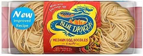 Blue Dragon Medium Egg Noodle Nests 300 gms